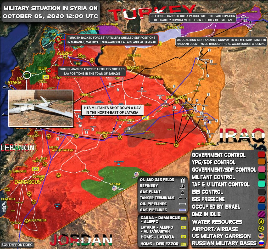 U.S.-led Coalition Sent Reinforcement, Carried Patrol in Syria's Al-Hassaka (Map Update)
