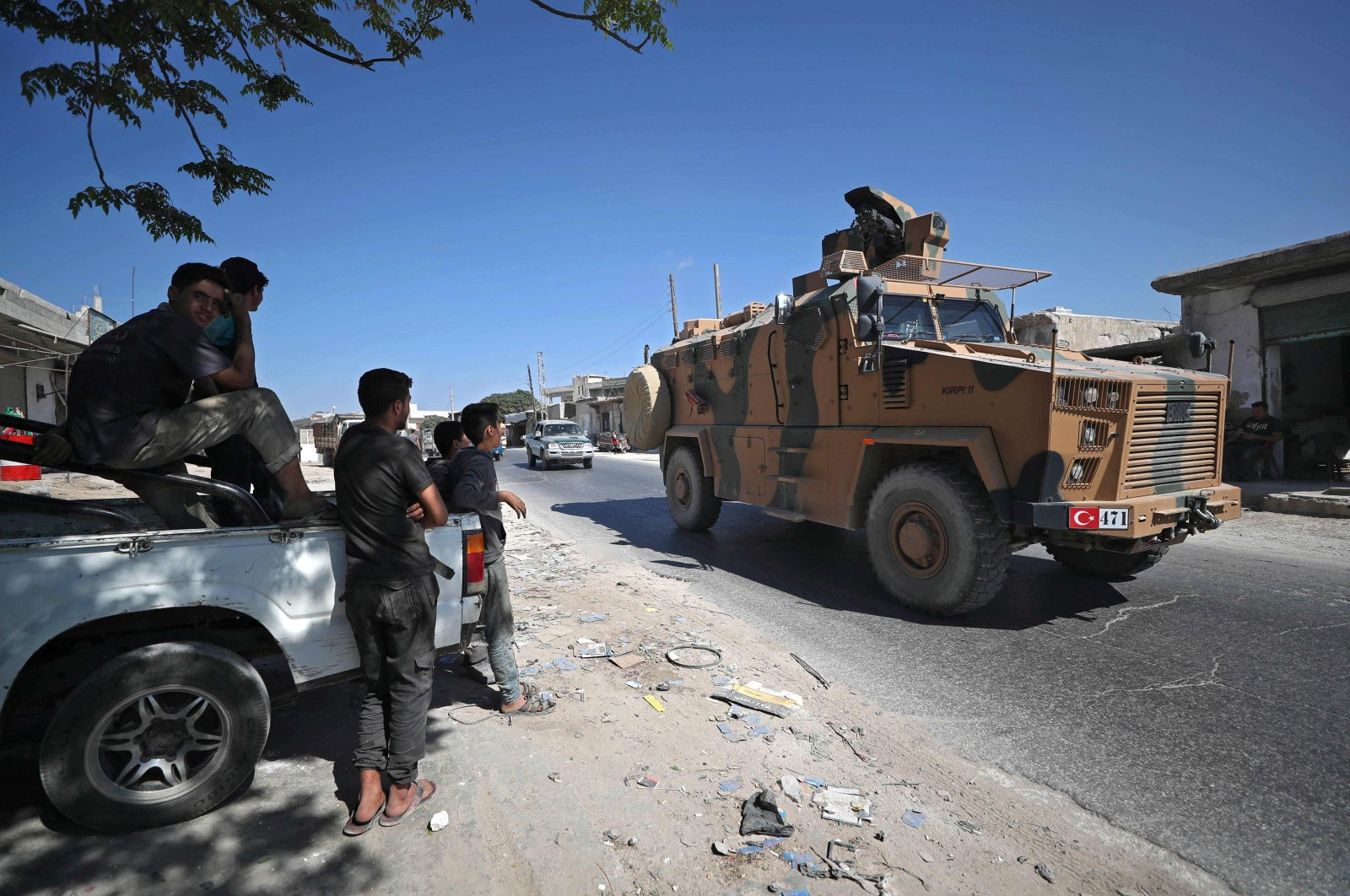 Turkish Military Convoy In Idlib Struck By Militants
