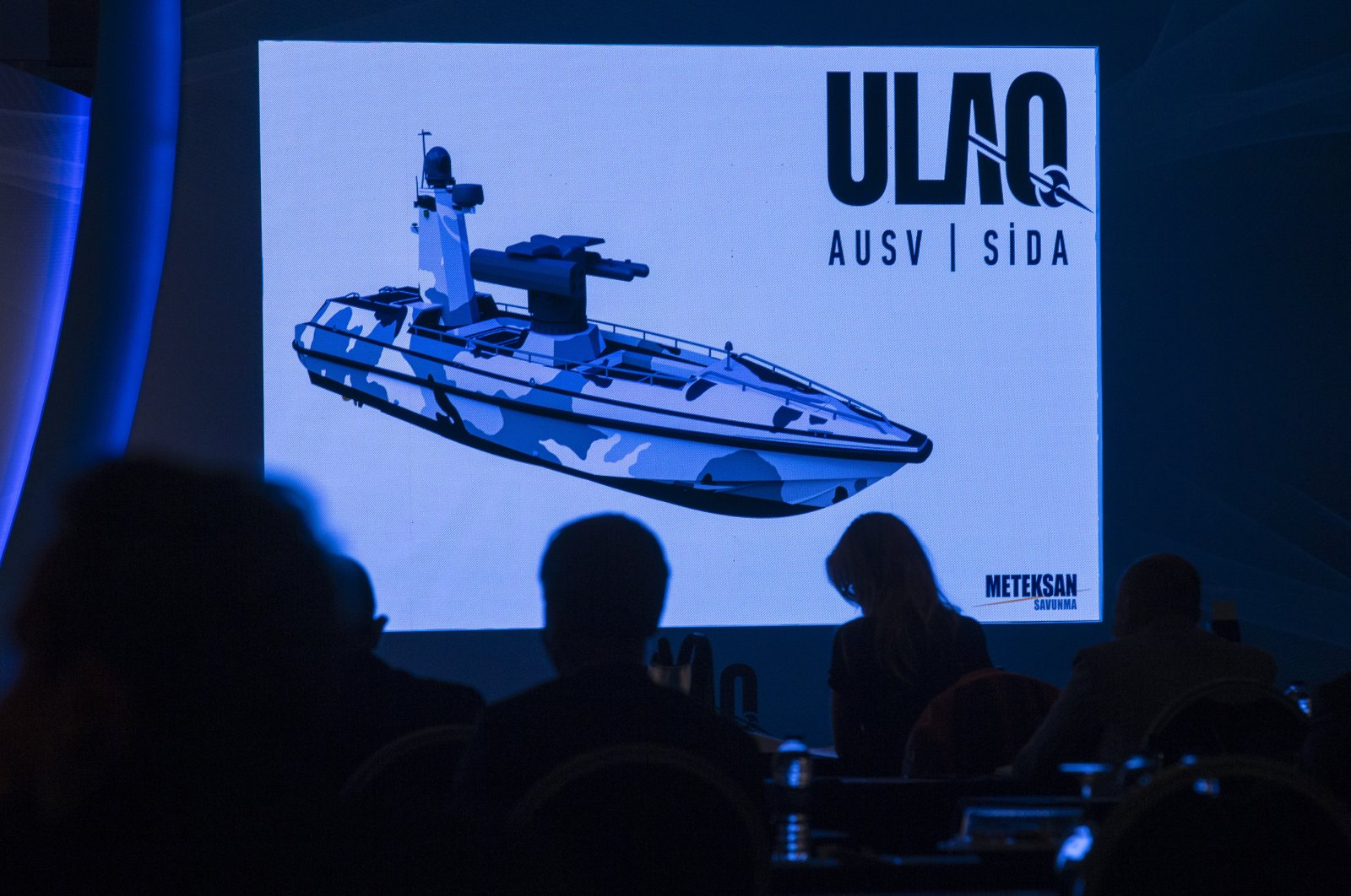 Turkey Unveils 'ULAQ' - Its First Ever Armored Unmanned Surface Vehicle