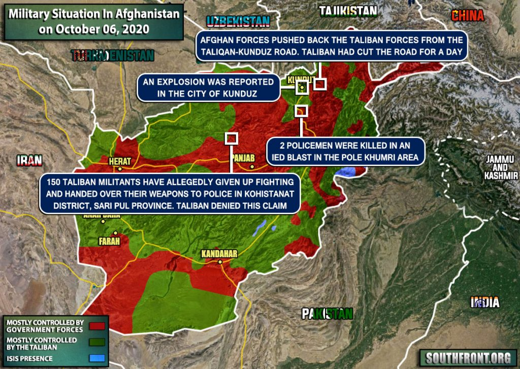 Taliban Fighters Give Up Fighting In Several Afghan Provinces (Map Update)