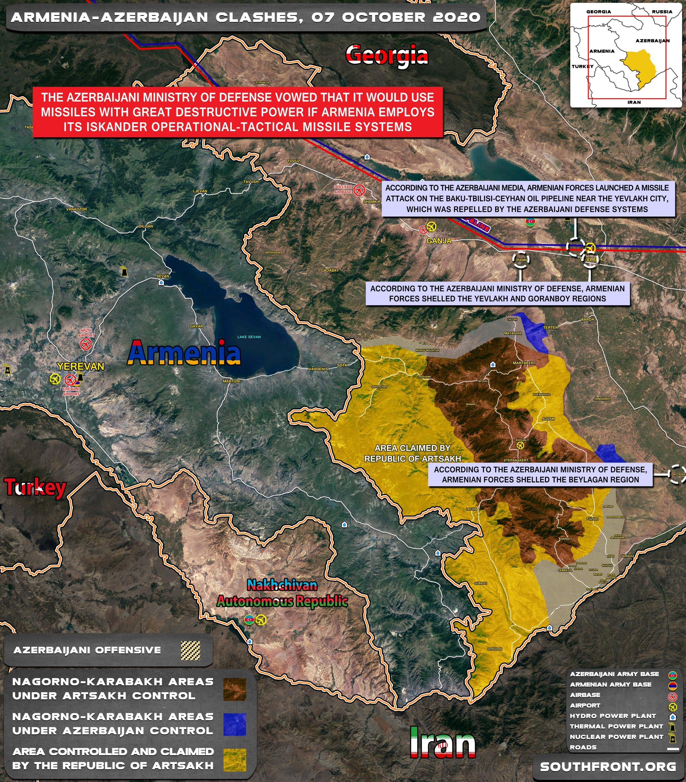 Azerbaijan, Armenia Exchange Exaggerated Losses Claims
