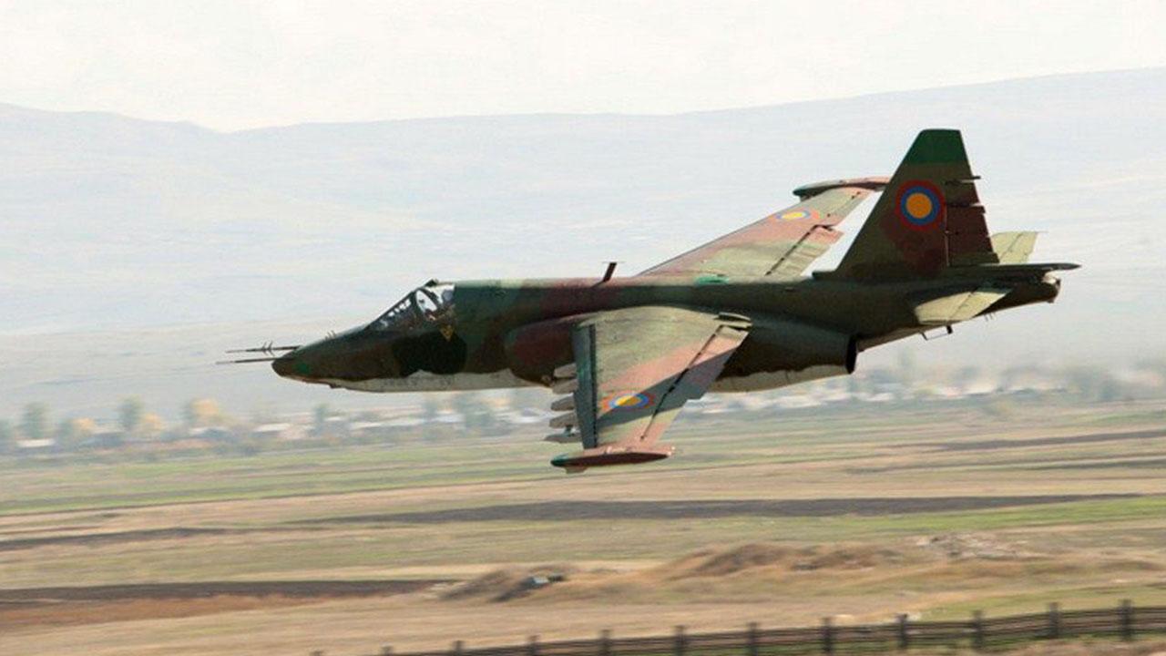 Azerbaijani Air-Defense Force Shot Down Armenian Su-25 Warplane, Drone