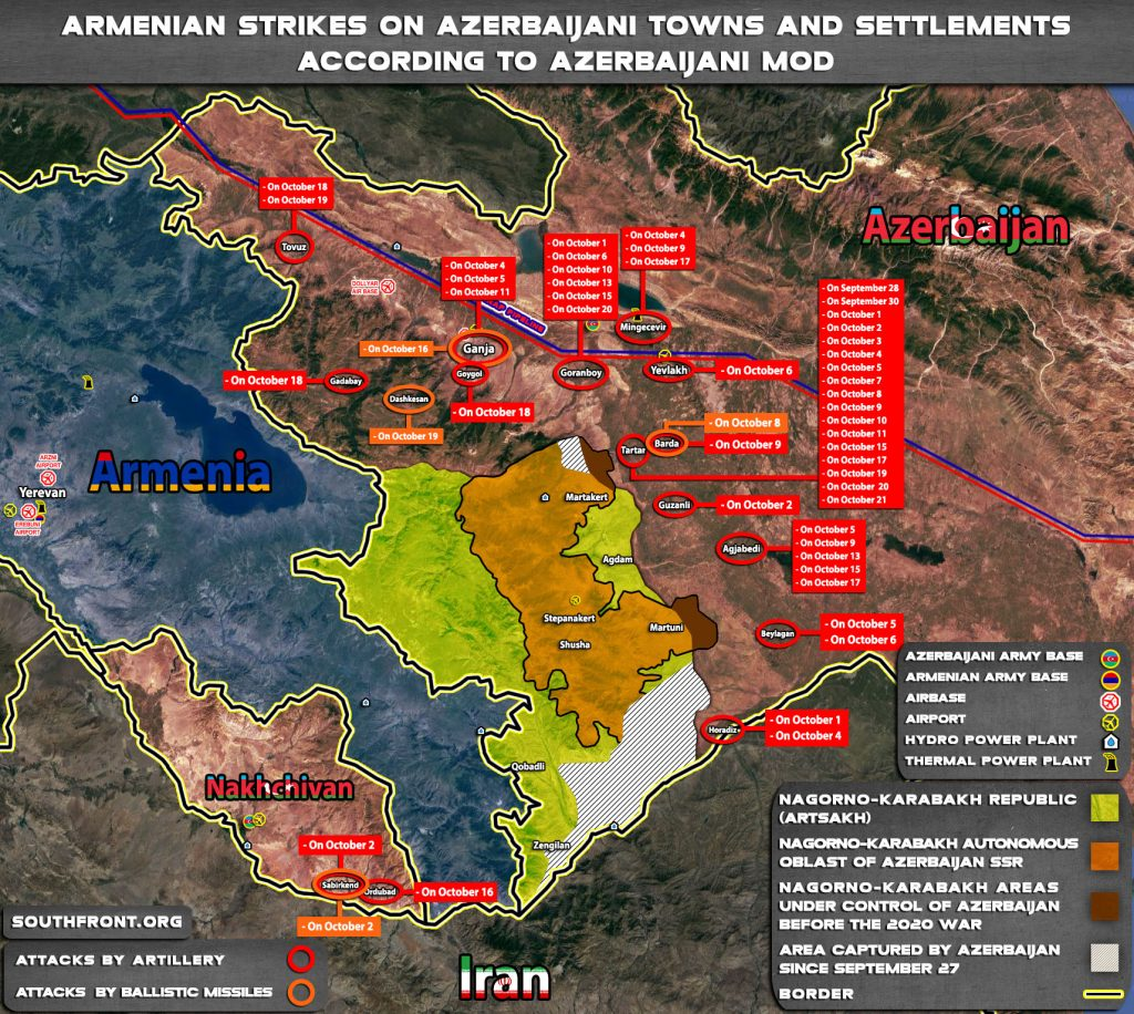 Armenians Lost Border With Iran. Advancing Azerbaijani Forces Are About To Reach Lachin Corridor (Maps, Videos)