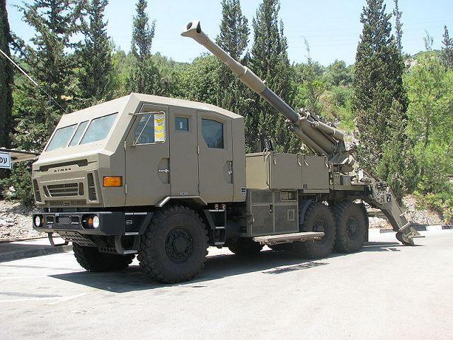 Weapons Of Karabakh War: Atmos 200 155mm Self-Propelled Howitzer