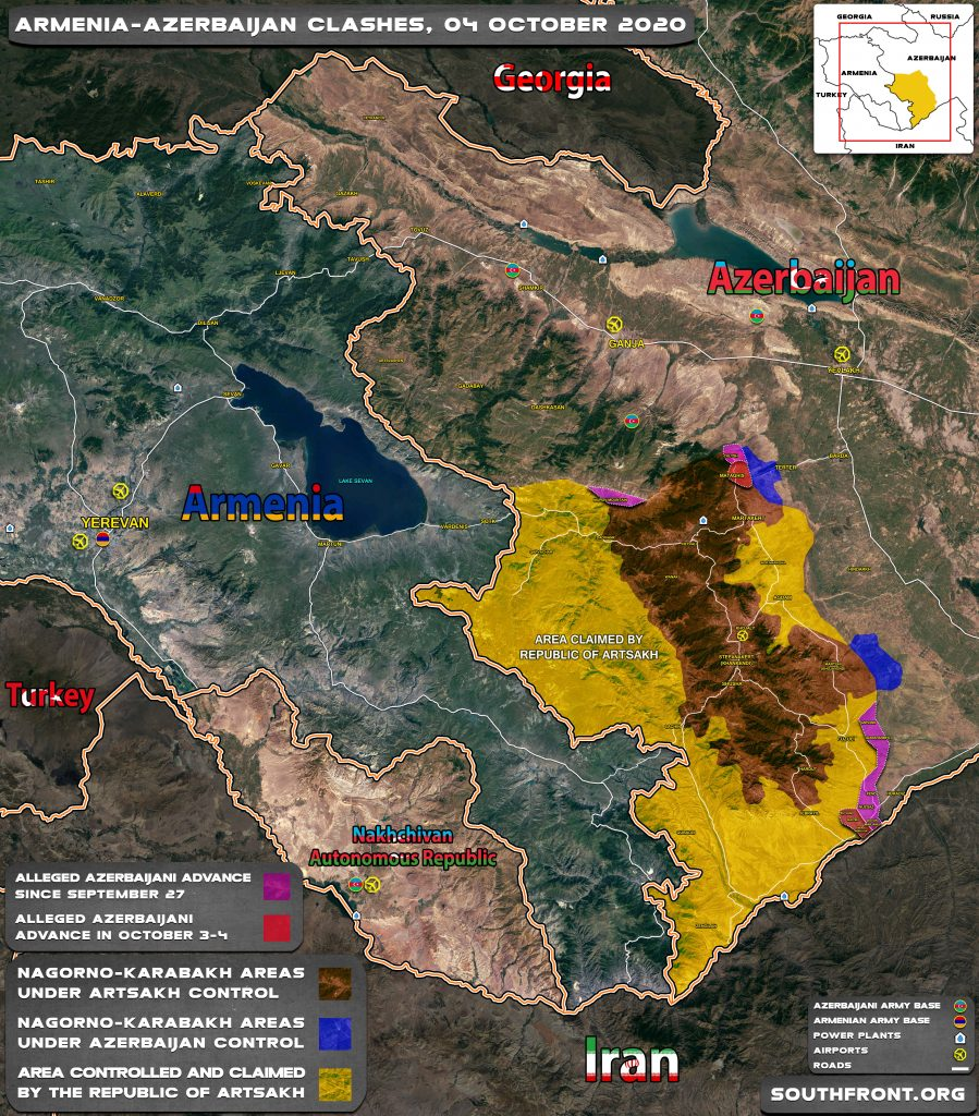 Azerbaijan Officially Declares Push For 'Military Solution' Of Karabakh Question