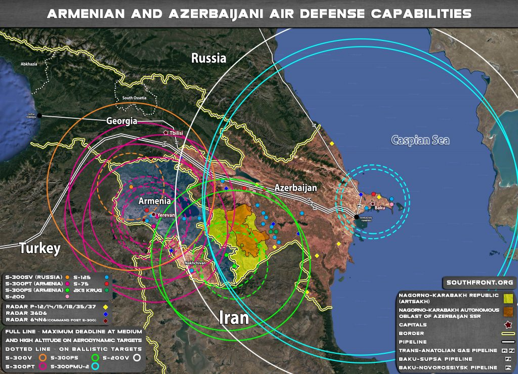 Armenian, Azerbaijani Air Defense Capabilities