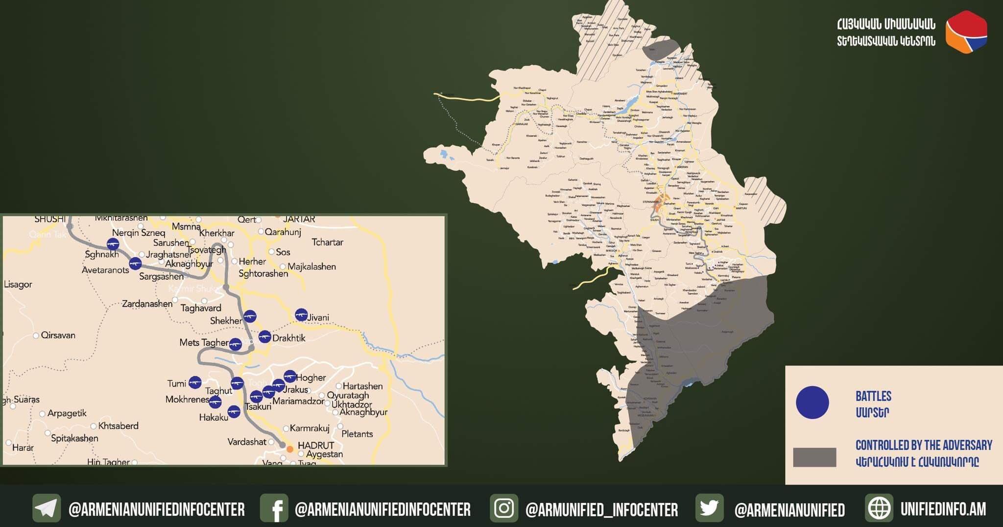 Both Armenia & Azerbaijan Claimed Advance in Nagorno-Karabakh