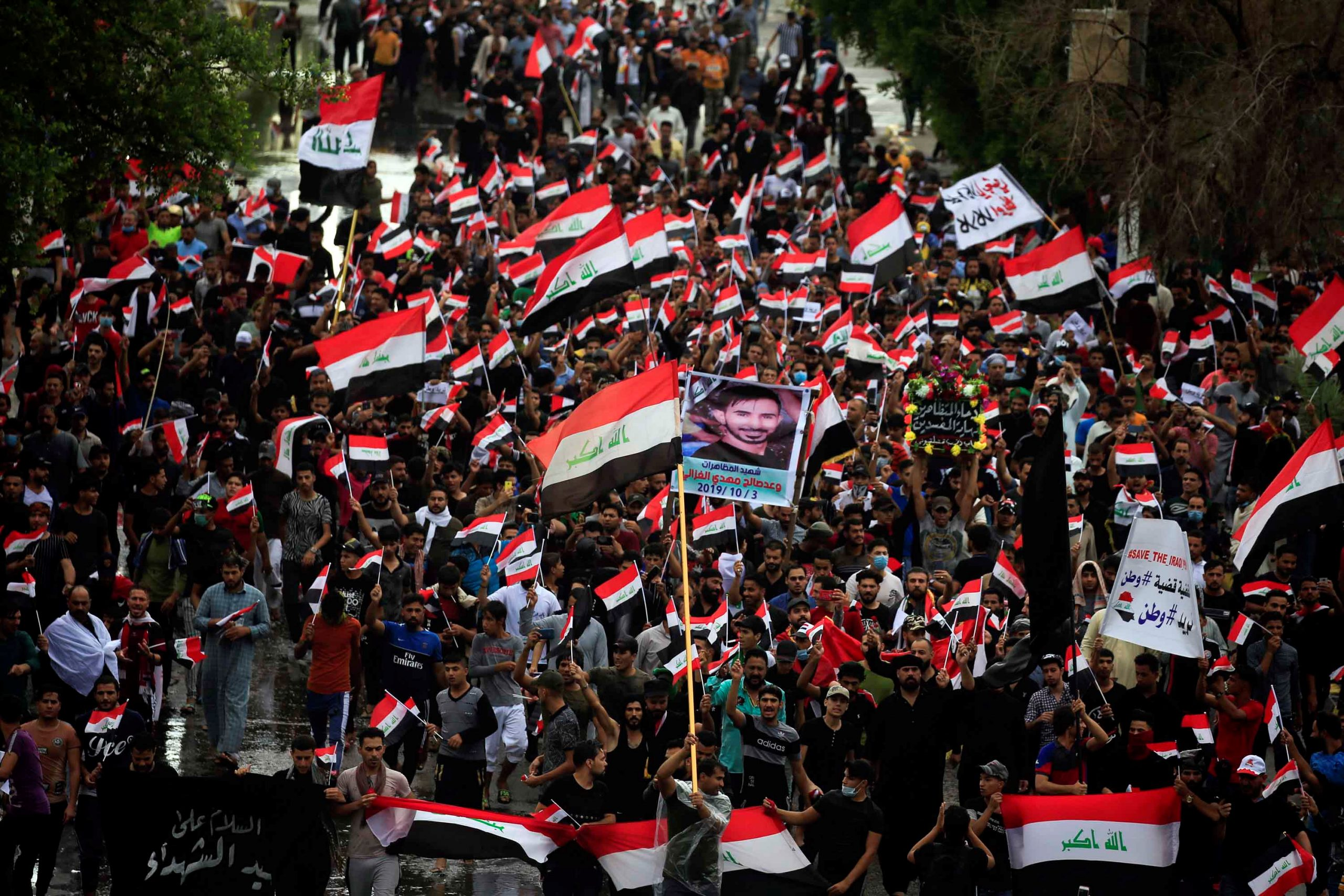 At Least 37 Wounded During Protests In Iraq