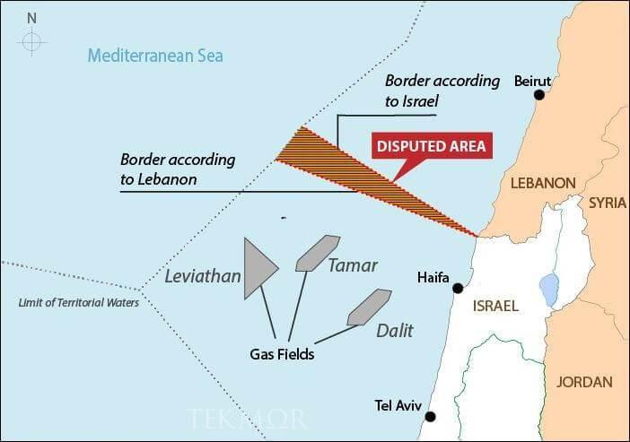 Lebanon And Israel Agree To Hold Negotiations Over Disputed Maritime Boundary