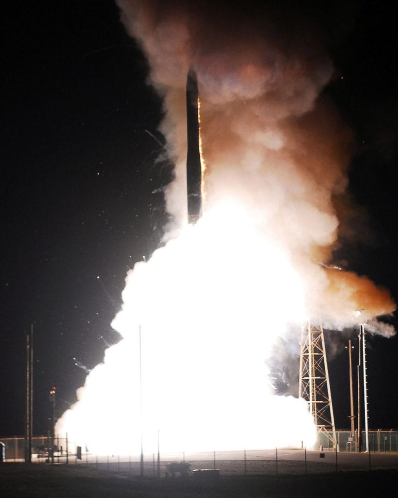 U.S. Air Force Successfully Test-Fires Minutemen III ICBM