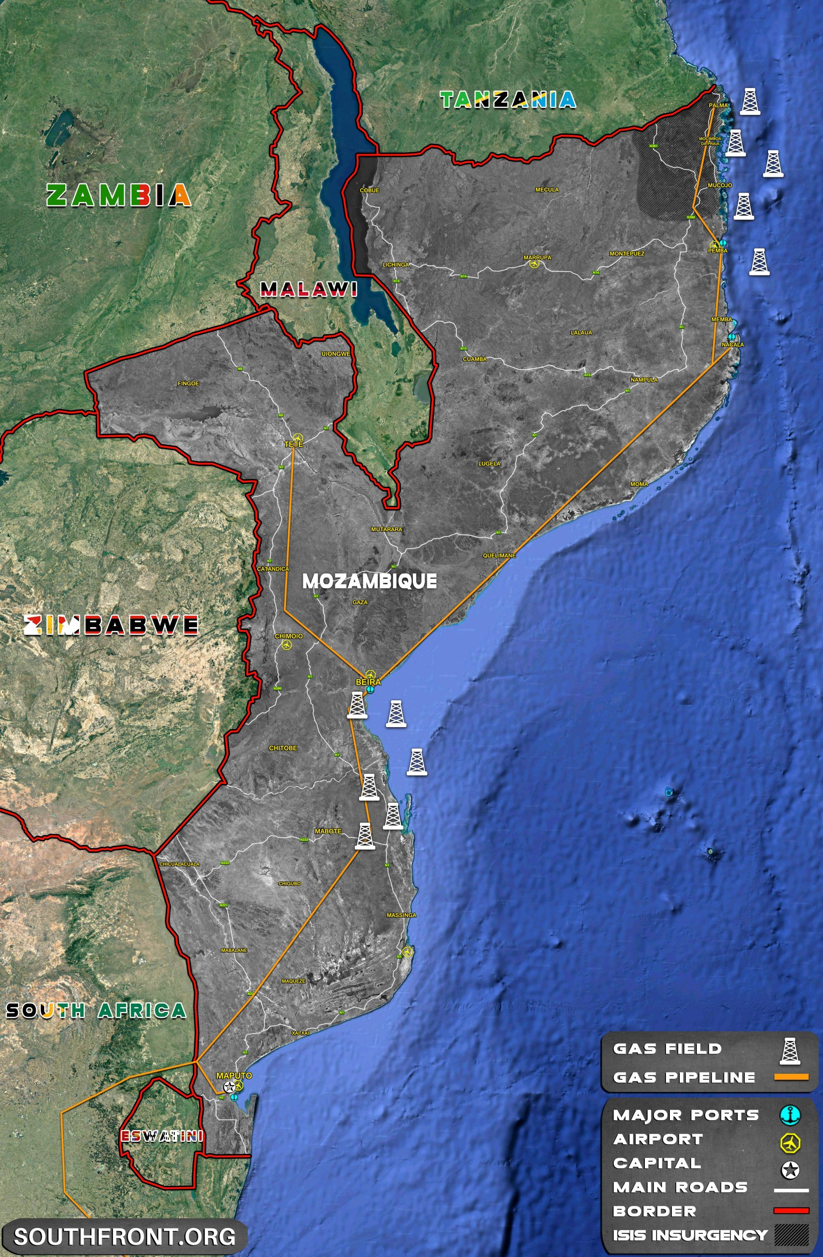 EU To Support Mozambique Struggle Against Militants In Northern Region