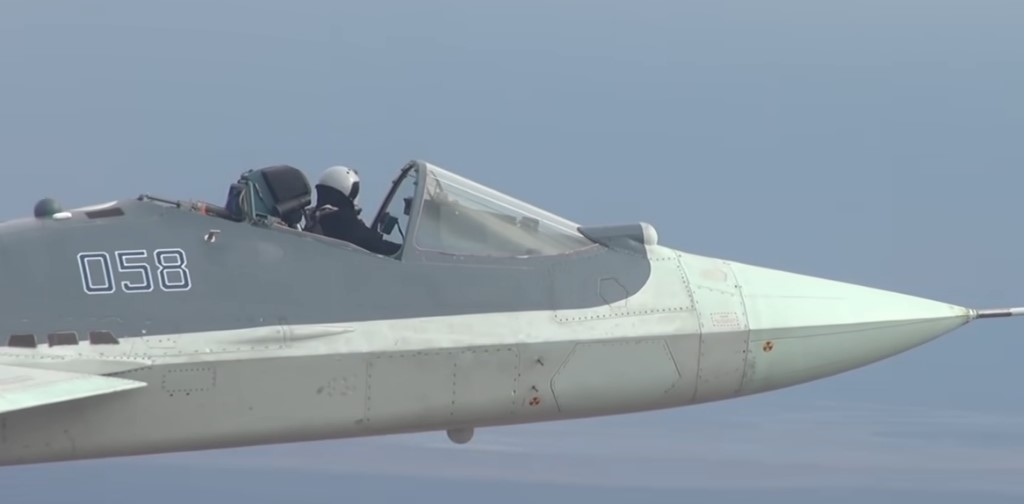 New Video Shows Russian Pilot Flying Su-57 Stealth Fighter With Cockpit Canopy Removed