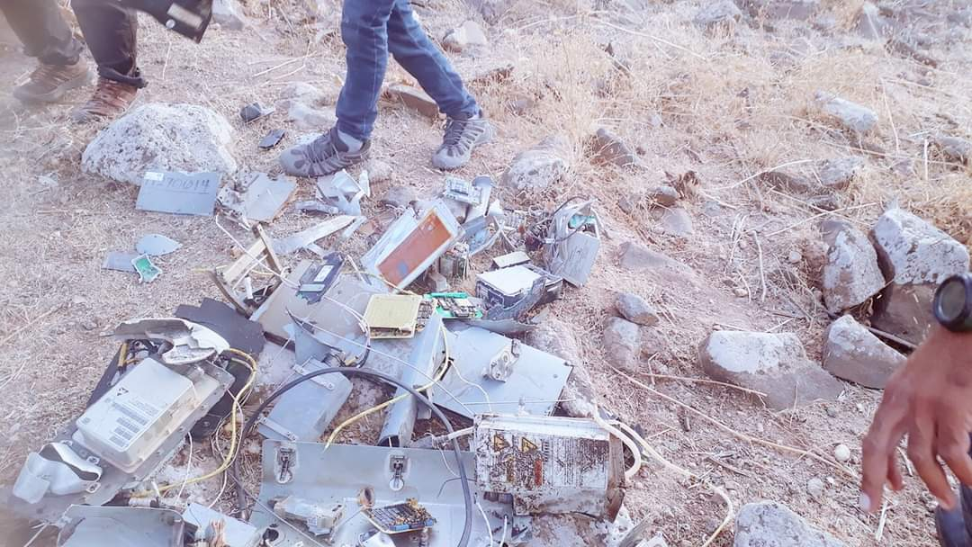 SDF Uncovered Wreckage Of U.S. Drone In Northeastern Syria (Photos)
