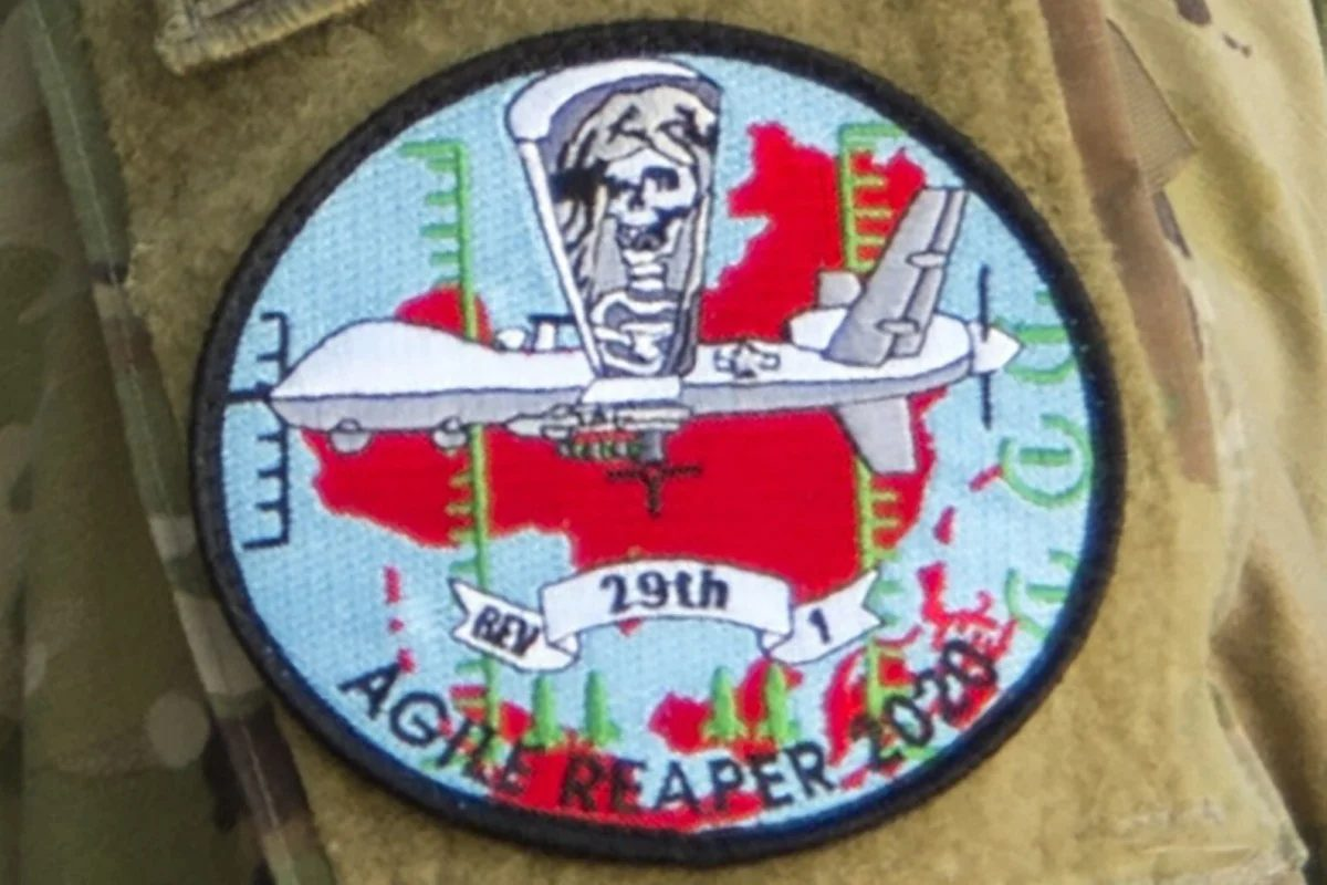 U.S. Air Force Uniform Patch Depicts Reaper Over China, Beijing Dissatisfied