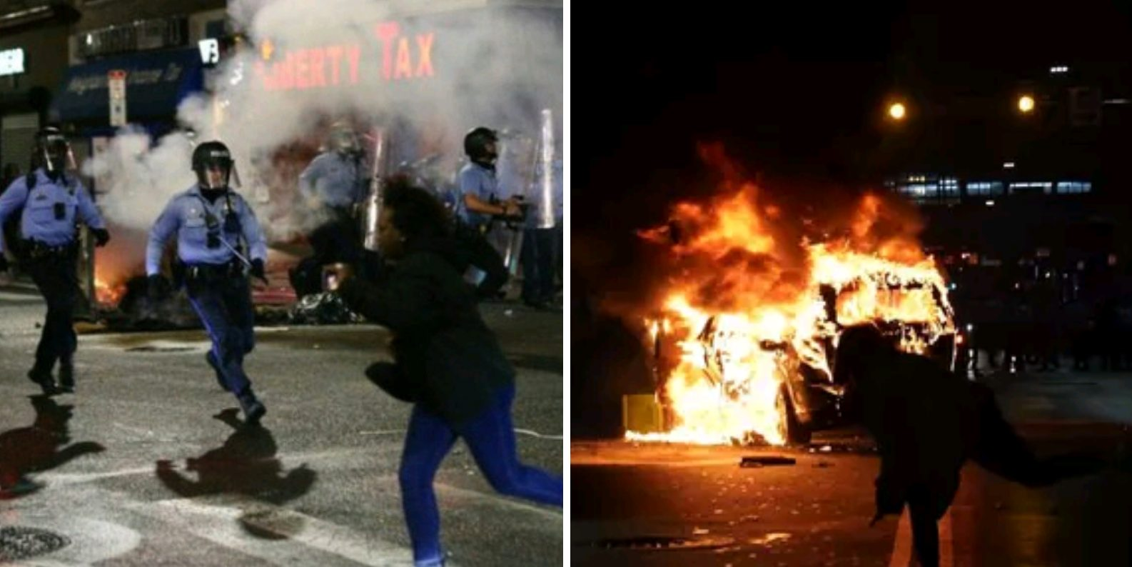 Following U.S. Secretary Of Defense Around And Making Rioting Easier: Pre-Election America
