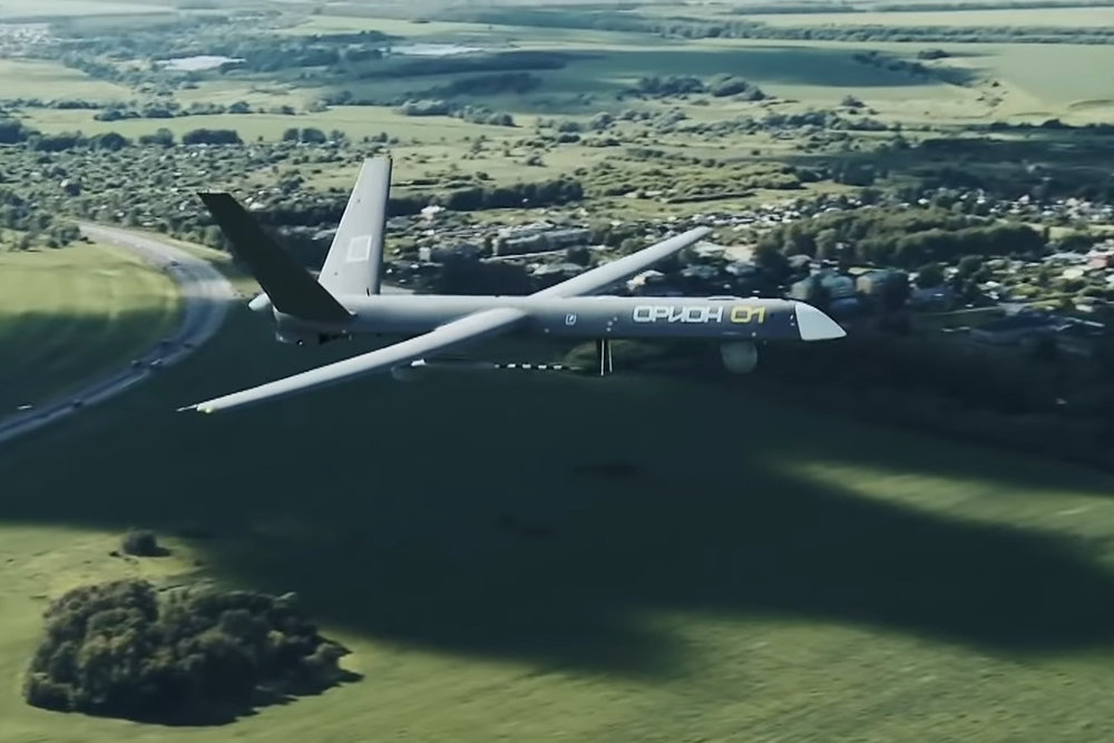 Video Footage Of First Orion UAV Delivered To The Russian Armed Forces