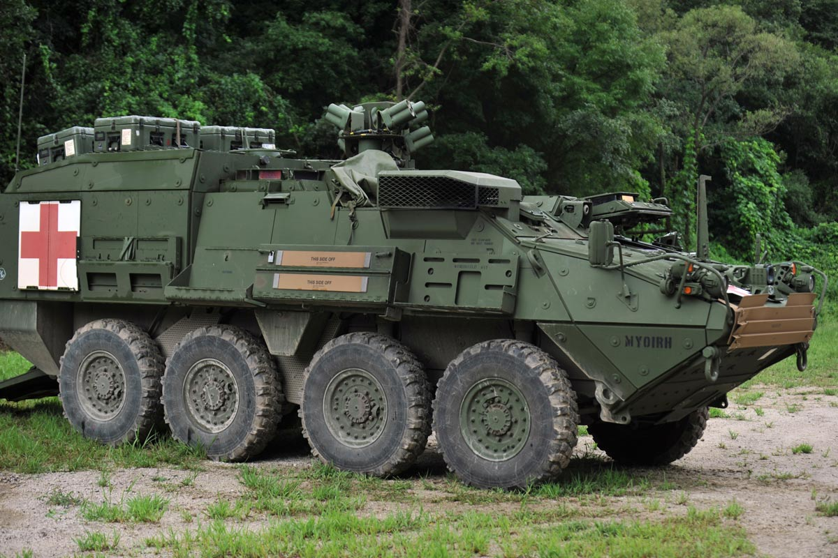 U.S. Army's M1126 Stryker Infantry Carrier Vehicle