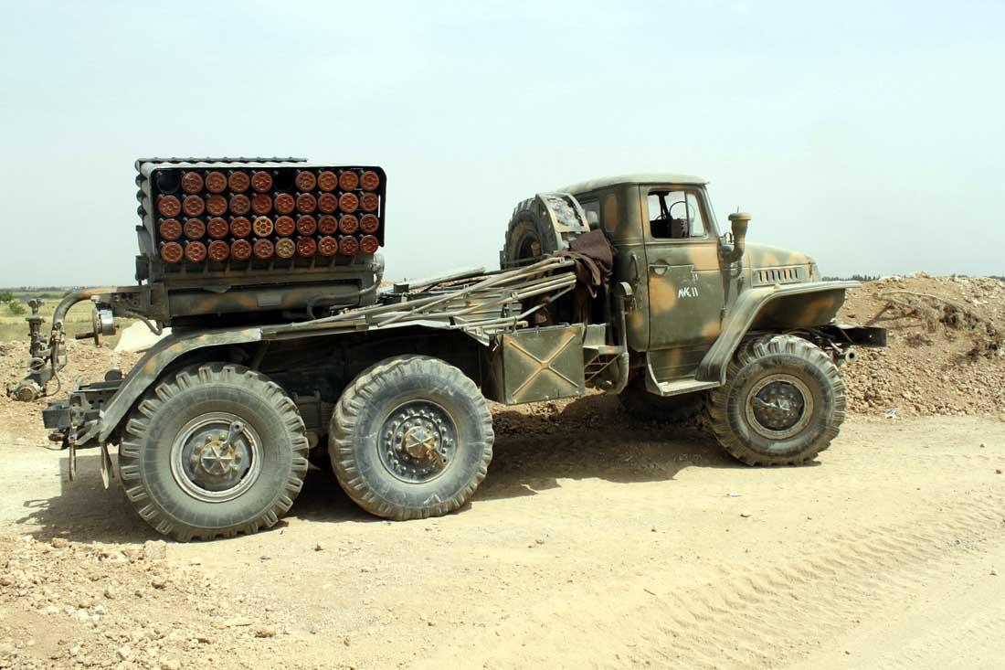 Weapons Of Karabakh War: The Soviet-Era BM-21 Grad Multiple Rocket Launcher System