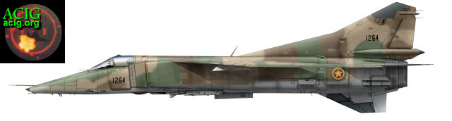 Weapons Of Ethiopian War: The Soviet MiG-23 Variable Geometry Fighter Aircraft