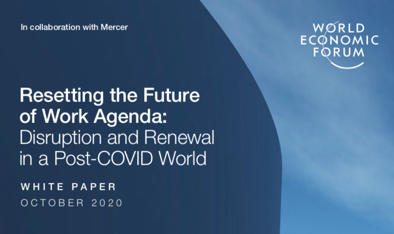 """The Post Covid World, The WEF's Diabolical Project: """"Resetting the Future of Work Agenda"""" – After """"The Great Reset"""". A Horrifying Future"""