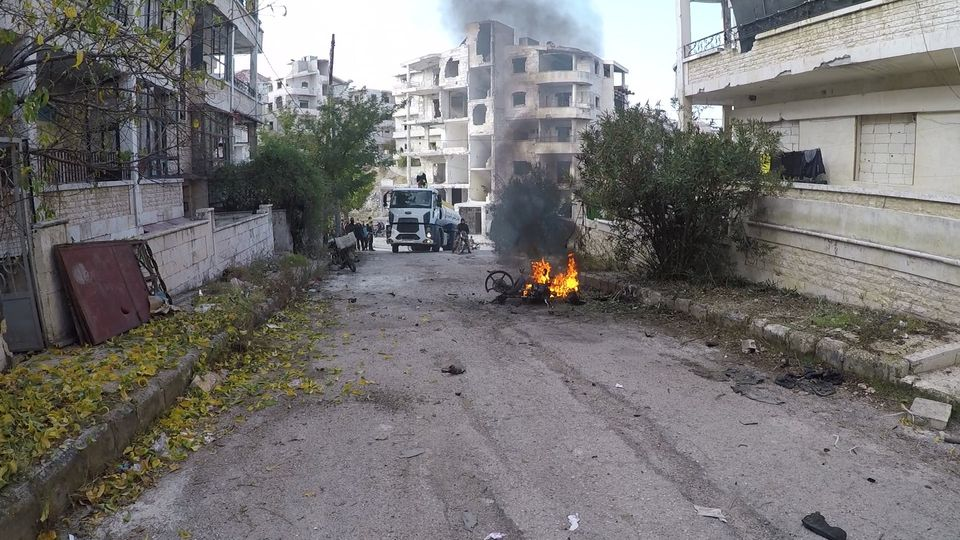Bombing Hits Turkistan Militants Stronghold In Syria's Greater Idlib (Photos)