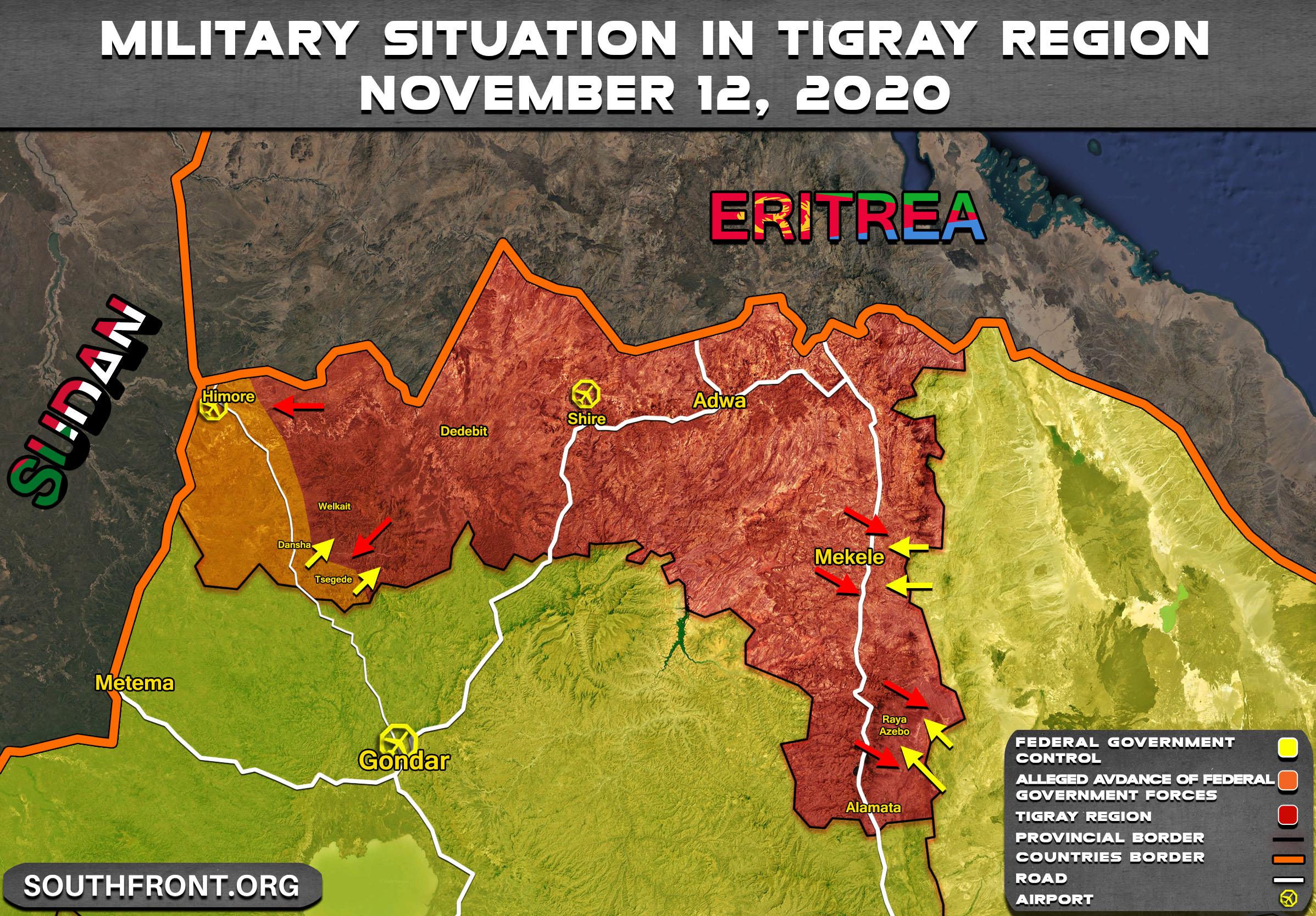 Ethiopian PM Claims His Forces 'Liberated' Western Part Of Tigray