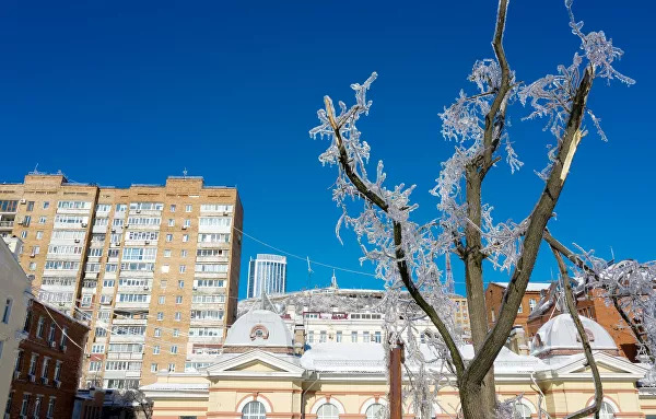 Freak Ice Storm Leaves Russia's Far East City Of Vladivostok Without Power (Photos, Videos)
