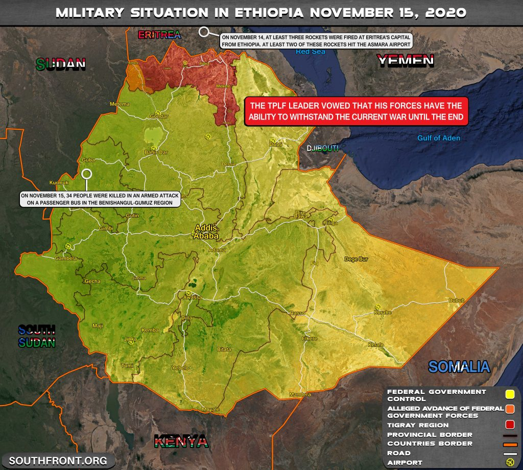 Civil War In Ethiopia: Conflict Developments And Background