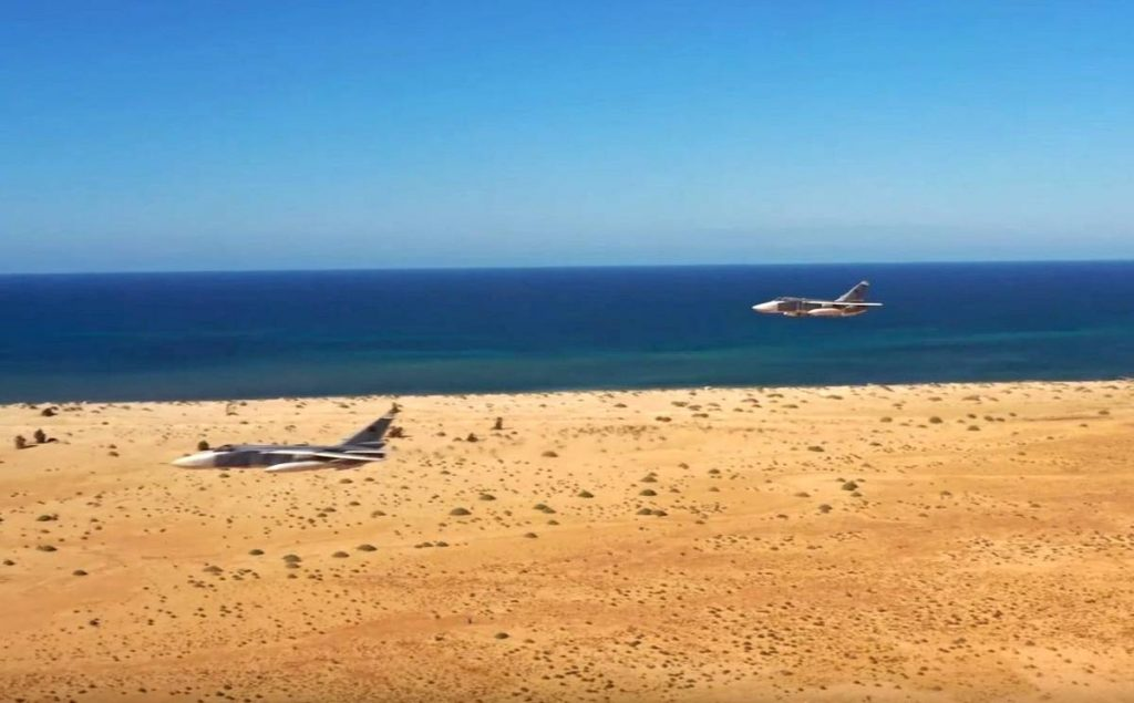 Russian-Made Su-24 Spotted Taking Part In Libyan Military Exercises (Video)