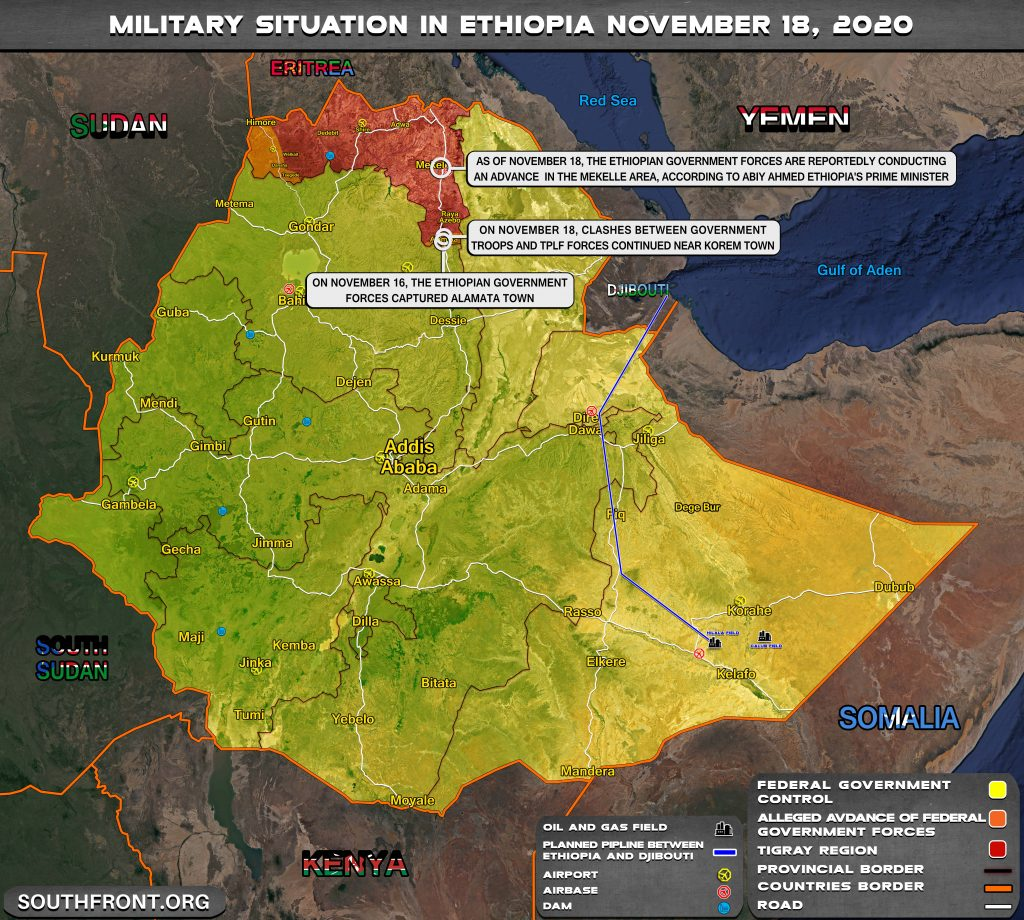 Tigray Rebels Refuse To Surrender Despite Advances By Federal Government Forces (Map Update)