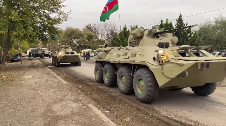 """Azerbaijan's Forces Entered Aghdam, Aliyev Says """"Normality"""" With Armenia Possible With """"Healthy Forces"""" In Power"""