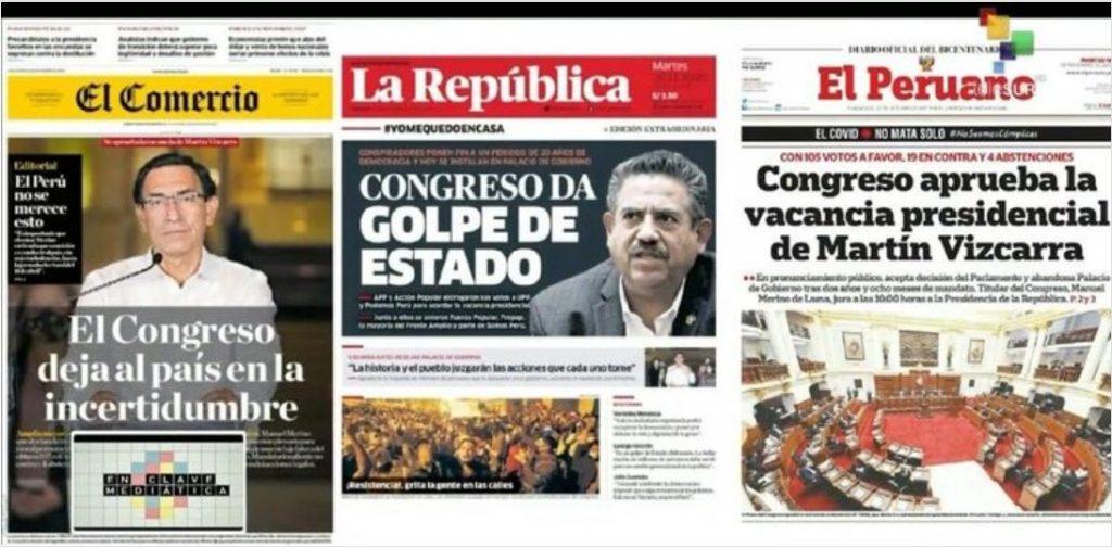 Behind The Scenes Of Presidential Leapfrog In Peru