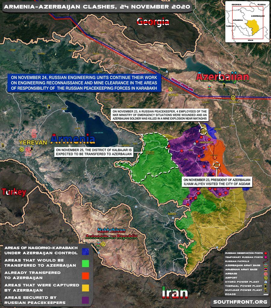 In Video: Armenian Forces Blow Up Barracks In Kalbajar Hours Ahead Of Handing Over Of District To Azerbaijan
