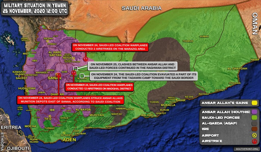 Pro-Saudi Forces Continue Their Heroic Retreat In Yemen (Map Update)
