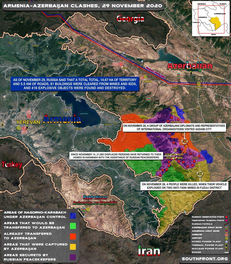 Nagorno-Karabakh - Long Way Towards Stabilization (Map, Videos)