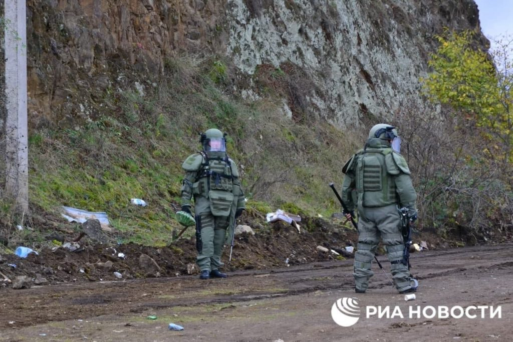 Russian Sappers Started Demining Works In Nagorno-Karabakh (Map, Video, Photos)