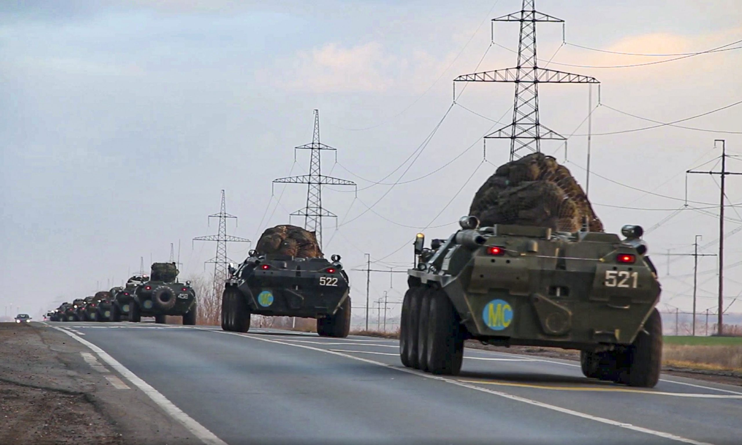 """Russian Peacekeepers Get Into Position, As France Offers """"Message Of Support To Armenian Friends"""" (Updated)"""