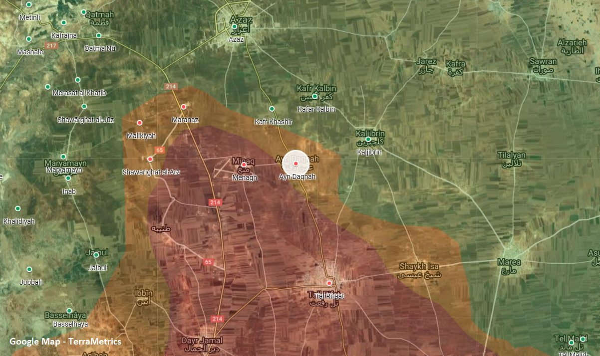 Turkish-Backed Militants Raided Kurdish Forces Positions In Northern Aleppo. Casualties Reported