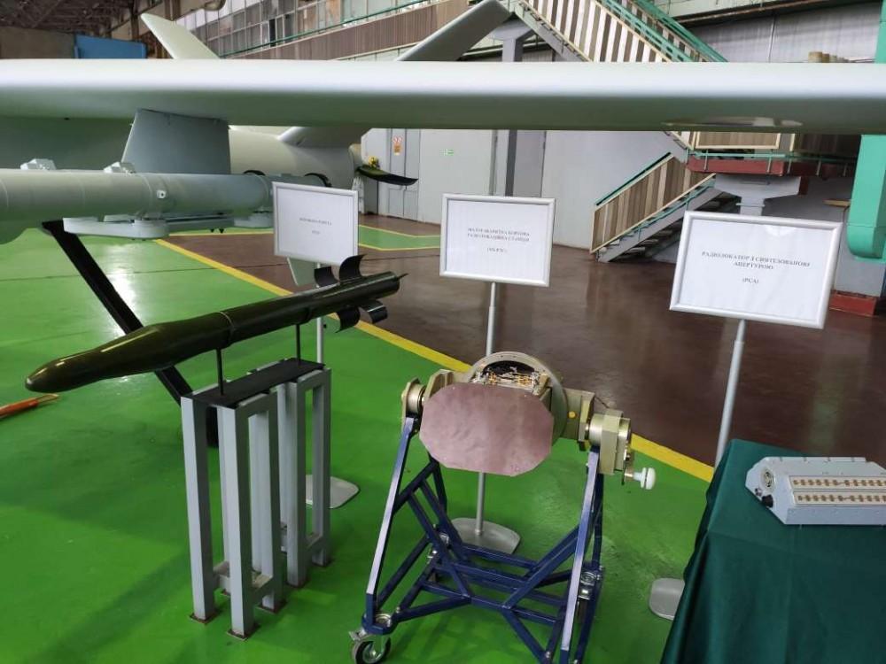 Ukraine Unveils Its Indigenous Sokol-300 Combat UAV