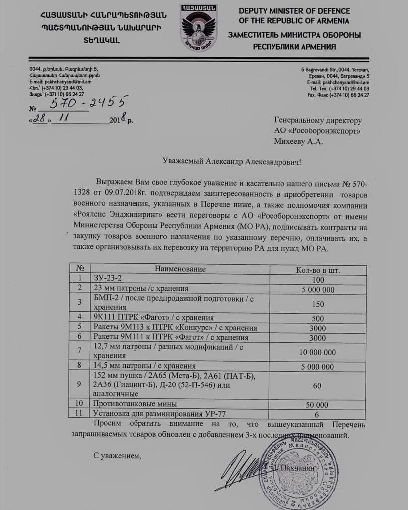 Pinch-Me Moment Of Armenian Media Reveals Corruption And Chaos In Defense Ministry