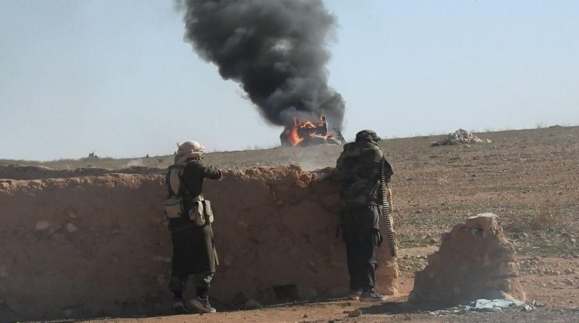 ISIS Attack In Syria's Homs Desert Claimed Lives Of Dozens Of Syrian Soldiers