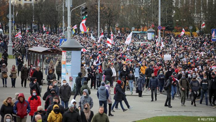 Belarus Protests Continue, As Lukashenko Realizes Importance Of Propaganda Campaign