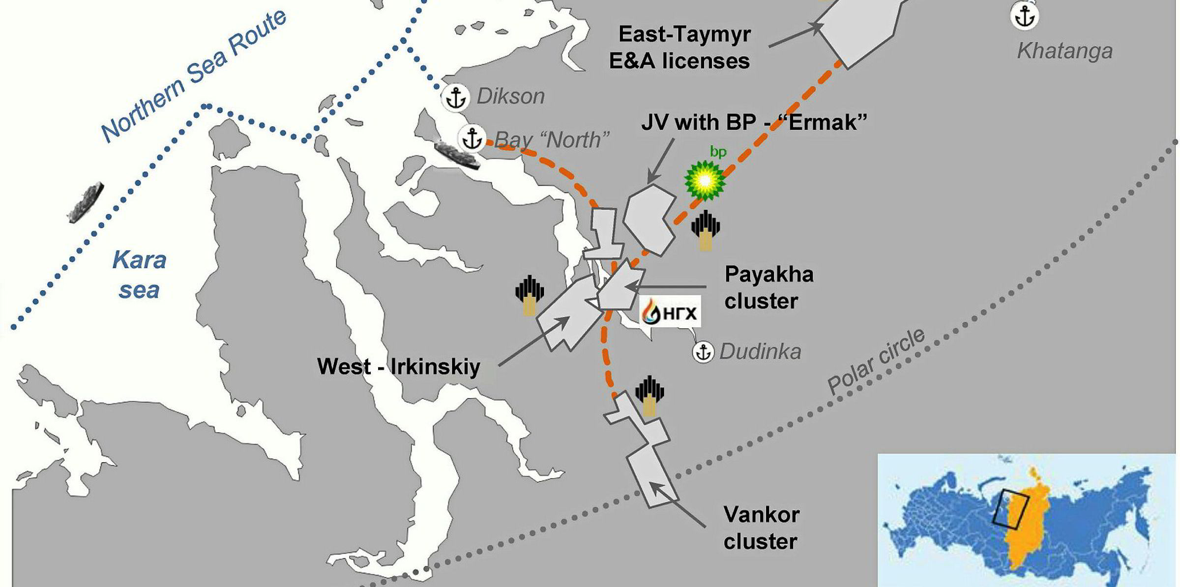 Russian President And Rosneft Chief Discuss Massive Vostok Oil Project, Beyond The Polar Circle