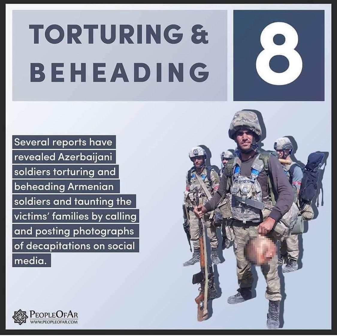 "Armenia Releases ""Top 10 Azerbaijani War Crimes List"", Azerbaijan Keeps Pushing Forward"