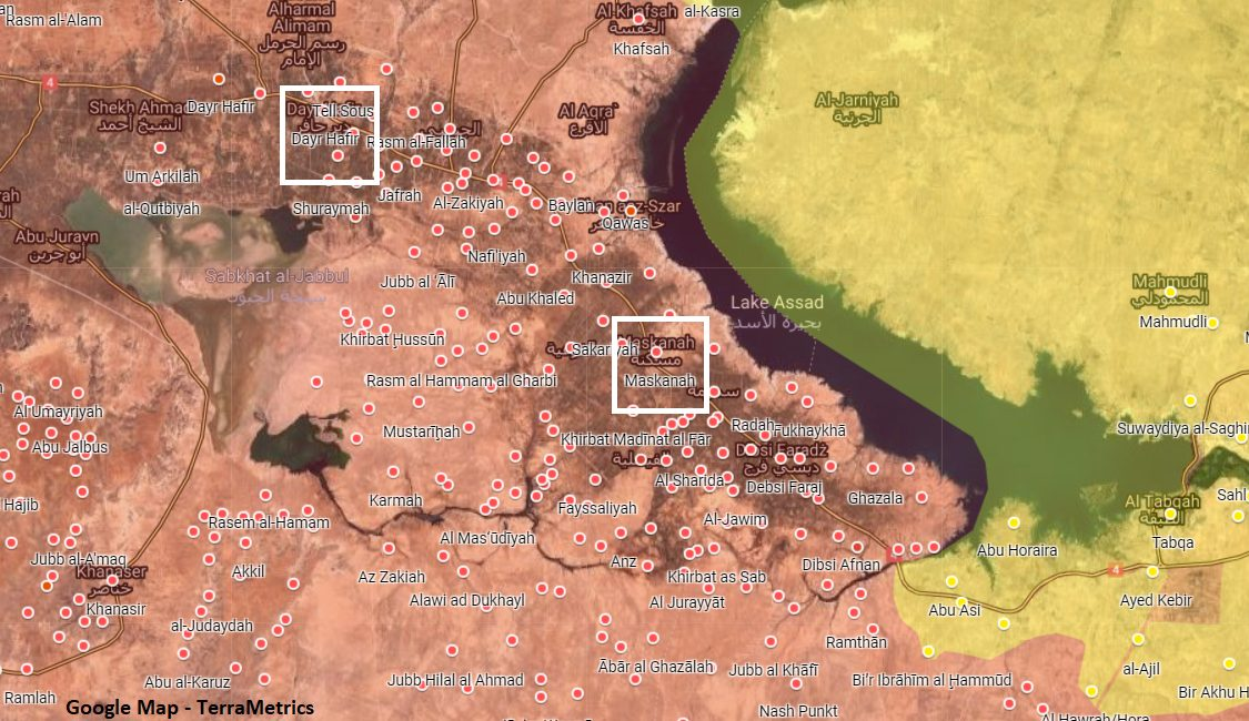 Unit Of Syrian National Defense Forces Disappeared In Eastern Aleppo
