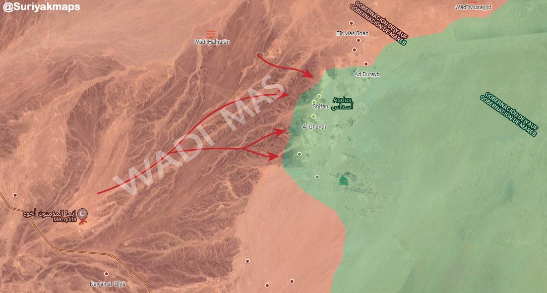 Houthis Finally Gained Control Of 'Mass Base' In Yemen's Ma'rib