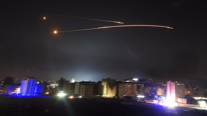 """Israel Strikes Various Syrian Armed Forces And Alleged Iranian Targets, In """"Retaliation"""" For IED Placement Attempt"""