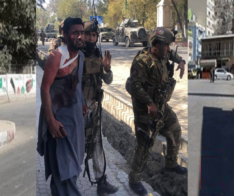 At Least 6 Injured After Blast And Gunmen Attacking Kabul University's Campus