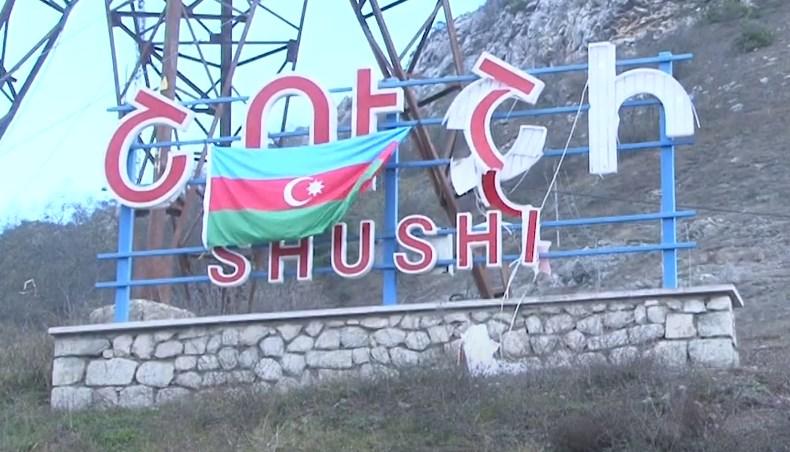 In Video: Azerbaijani Troops Raise Flag Over Armenian Stronghold Of Shusha