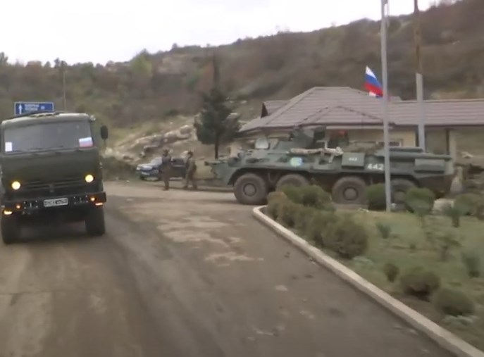 Over 1,100 Russian Troops Are In Karabakh As Deployment Continues